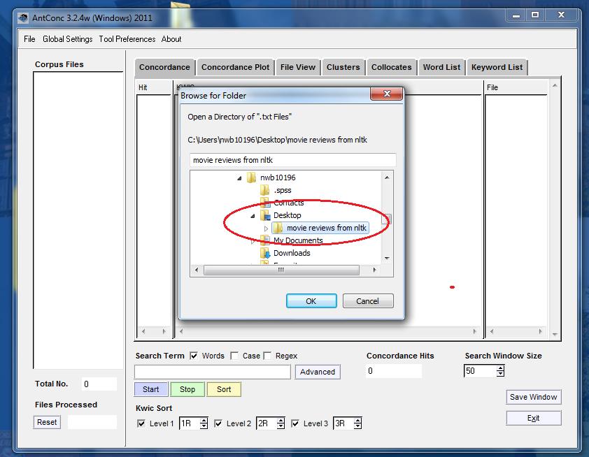 files on desktop open