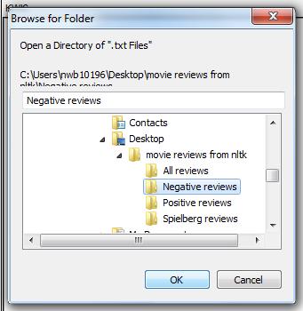 open negative reviews